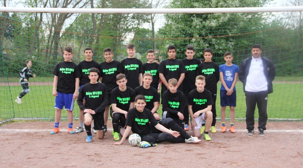 C-Jugend Meistermannschaft 2015